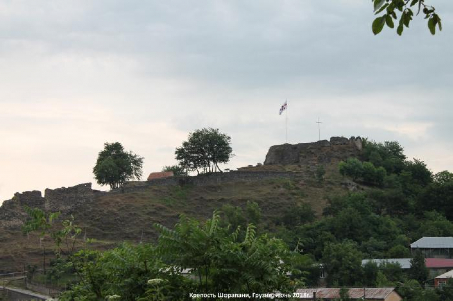Shorapani Castle (Video)