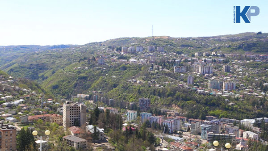 Chiatura – the city with an exceptional terrain